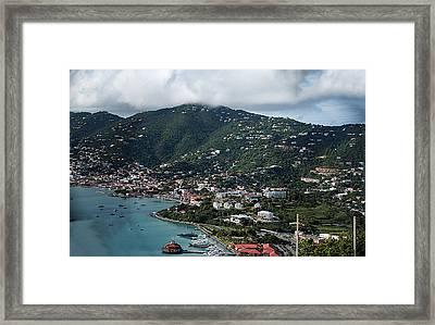 Charlotte Amalie Framed Print