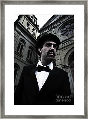 Chary Church Clergyman  Framed Print