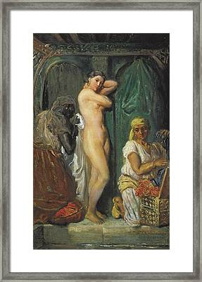 Chasseriau, Th�odore 1819-1856. The Framed Print by Everett