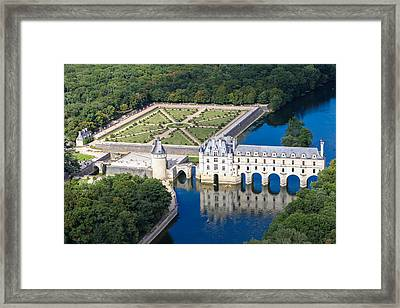 Chateau Chenonceau Framed Print by Mick Flynn