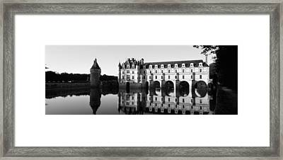 Chateau De Chenonceaux Loire Valley Framed Print by Panoramic Images