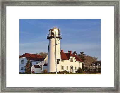 Chatham Lighthouse Framed Print by John Greim