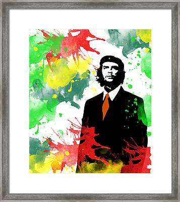 Che Guevara Framed Print by Celestial Images