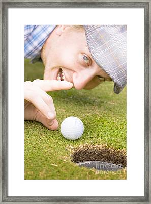 Cheeky Sports Victory Framed Print by Jorgo Photography - Wall Art Gallery