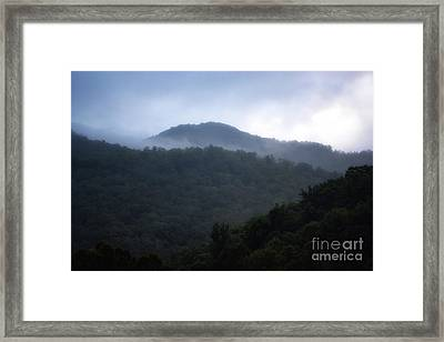 Cherokee Mountains Framed Print