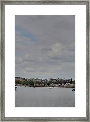Cherry Blossoms - Washington Dc - 01132 Framed Print by DC Photographer