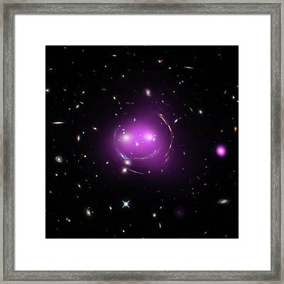 Cheshire Cat Galaxy Group Framed Print