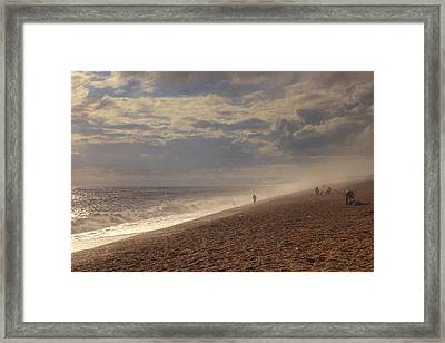 Chesil Beach Framed Print