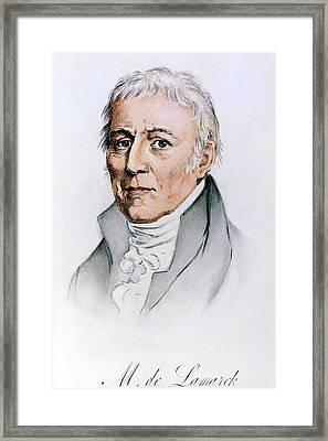 Chevalier De Lamarck (1744-1829) Framed Print