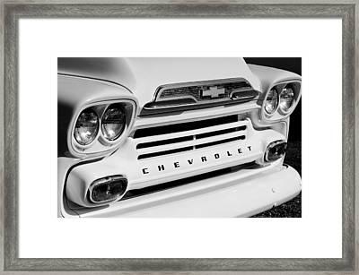 Chevrolet Apache 31 Fleetline Pickup Truck Framed Print by Jill Reger