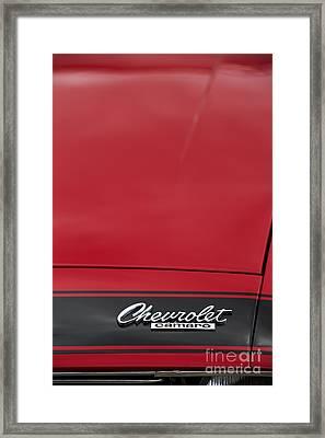 Chevrolet Camaro Framed Print