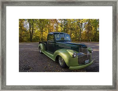 Chevy Truck Framed Print