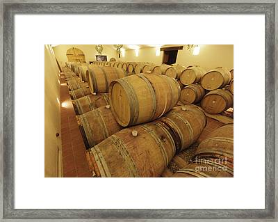Chianti Classico Framed Print by Chris Selby