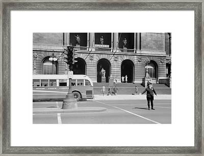 Chicago Art Institute, 1940 Framed Print by Granger