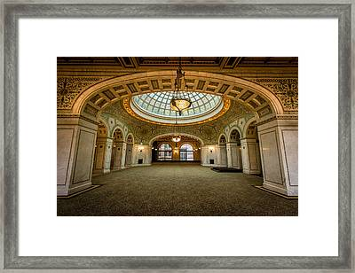Chicago Cultural Center Framed Print