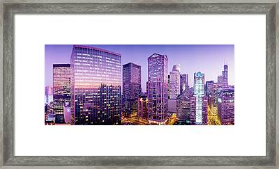 Chicago Il Framed Print by Panoramic Images