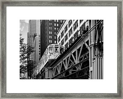 Chicago Loop 'l' Framed Print