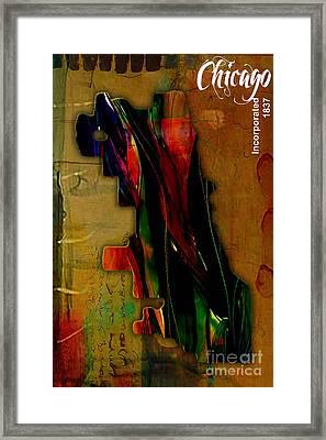 Chicago Framed Print by Marvin Blaine