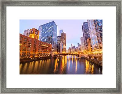 Chicago River View Framed Print by Jess Kraft