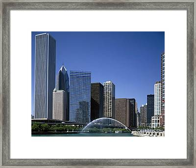 Chicago Skyline Framed Print