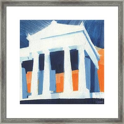 Chicago Soldier Field 30 Of 100 Framed Print by W Michael Meyer