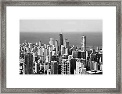 Chicago - That Famous Skyline Framed Print by Christine Till
