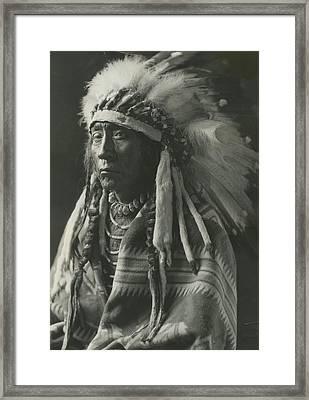 Chief Eagle Calf Framed Print