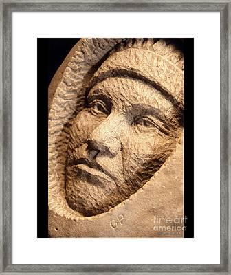 Chief-joseph Framed Print by Gordon Punt