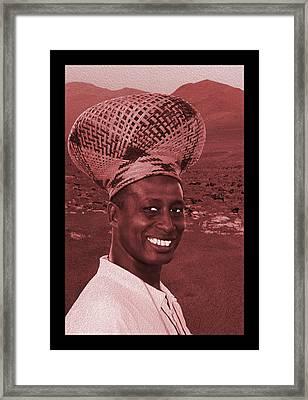 Chief Of The Desert Wf  Framed Print