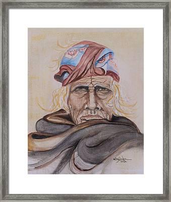 Chief Si Wa Wata Wa Framed Print