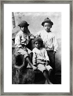 Children, 19th Century Framed Print by Granger