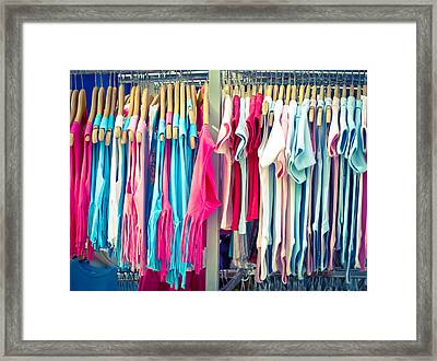 Children's Clothes Framed Print