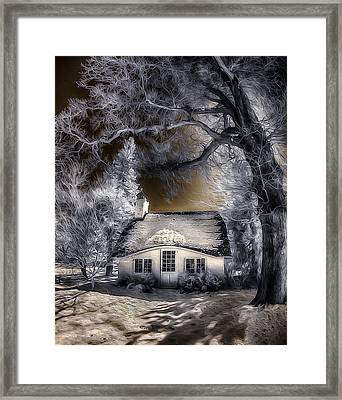Framed Print featuring the photograph Children's Cottage by Steve Zimic