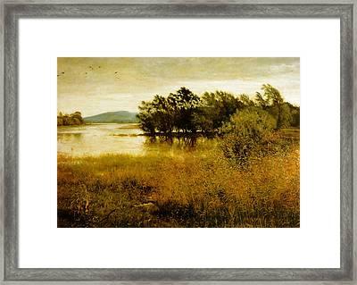 Chill October Framed Print by John Everett Millais