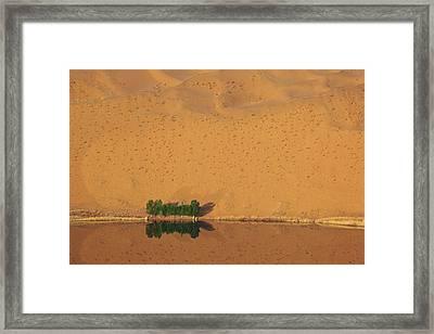 China, Inner Mongolia, Badain Jaran Framed Print by Jaynes Gallery