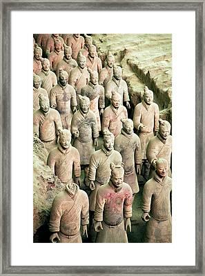 China, Xi'an, Qin Shi Huang Di Framed Print by Miva Stock