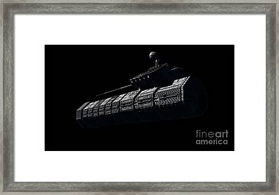 Chinese Orbital Weapons Platform Framed Print by Rhys Taylor