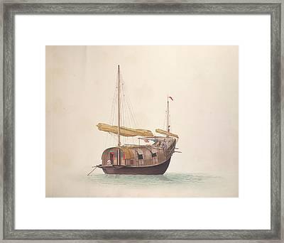 Chinese Vessel Framed Print
