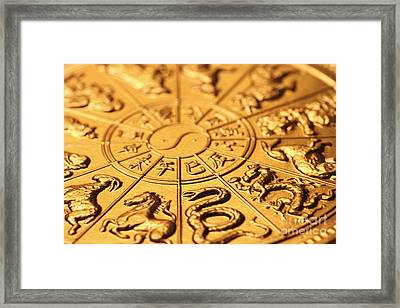 Chinese Zodiacs Framed Print