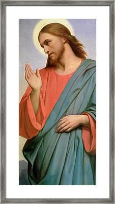 Christ Weeping Over Jerusalem Framed Print