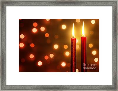 Christmas Ambiance Framed Print