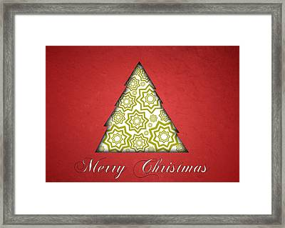 Christmas Card 19 Framed Print by Martin Capek