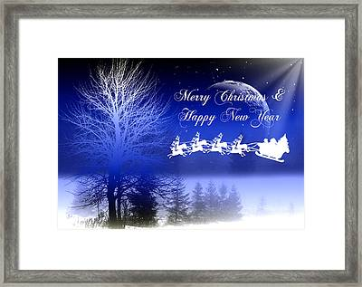 Christmas Card 3 Framed Print