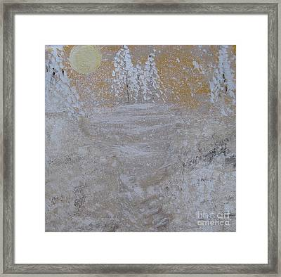 Christmas Card No.2 Framed Print by Nancy Pace
