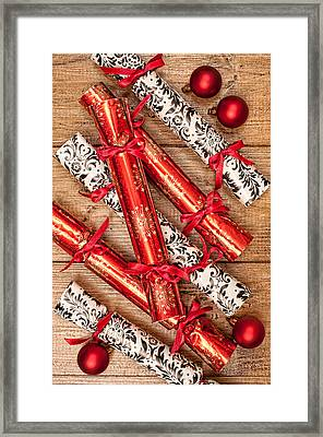Christmas Crackers Framed Print by Amanda Elwell