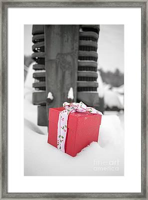 Christmas Down On The Farm Framed Print