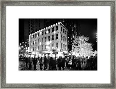 Christmas In Pittsburgh Framed Print