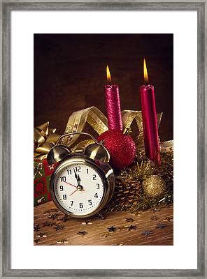 Christmas Still-life Framed Print