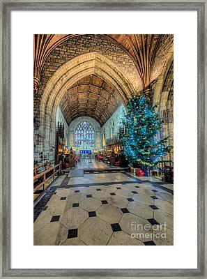 Christmas Tree Framed Print by Adrian Evans
