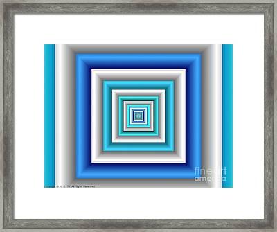 Chromodynamic 3 Framed Print
